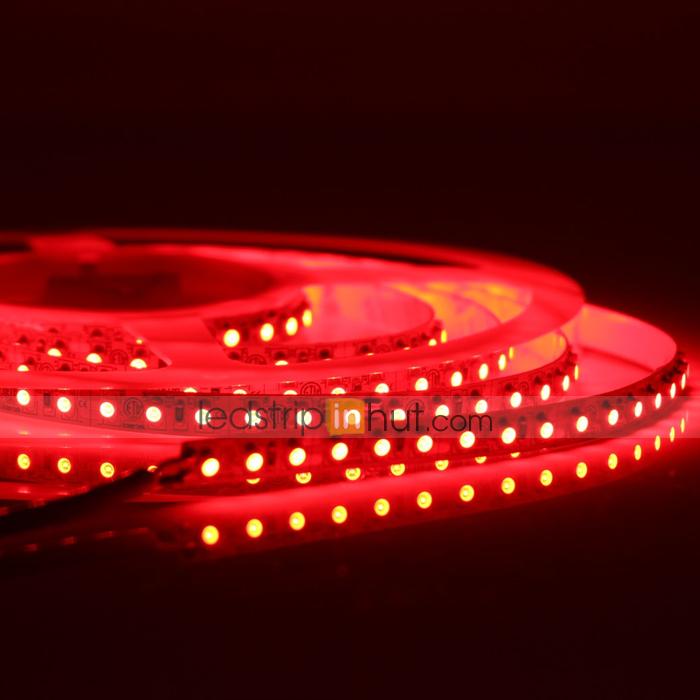 "Adhesive Weatherproof One 19.5/"" Flexible Strip of Red LED Lighting"
